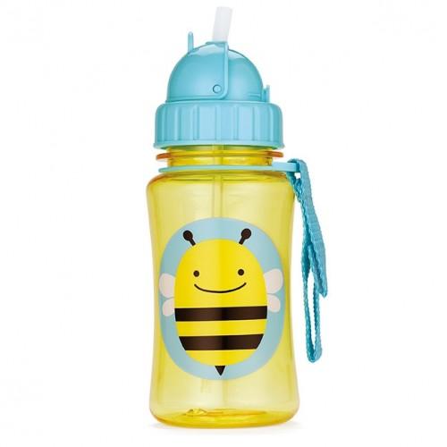 Bouteille à paille abeille