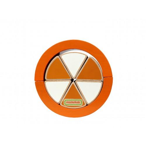 Wooden Orange Puzzle