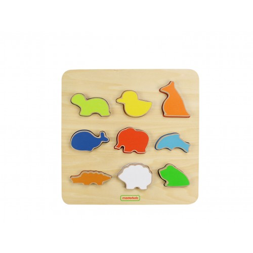 Animal Shape Sorting Board