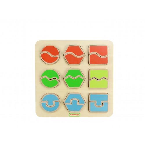 Puzzle de correspondance de formes