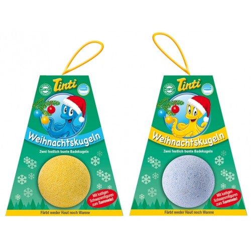 Tinti Boules de Noël, set 2 pièces