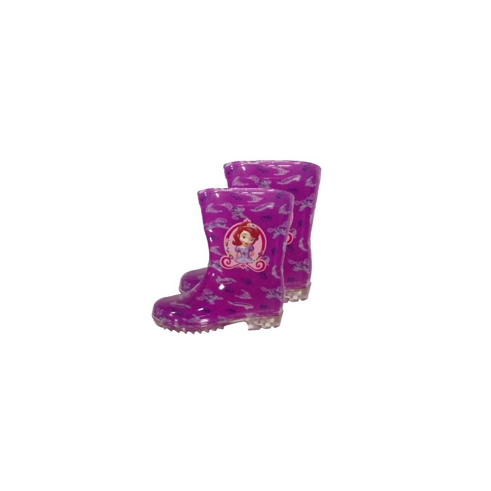 Bottes de pluie Princesse Sofia