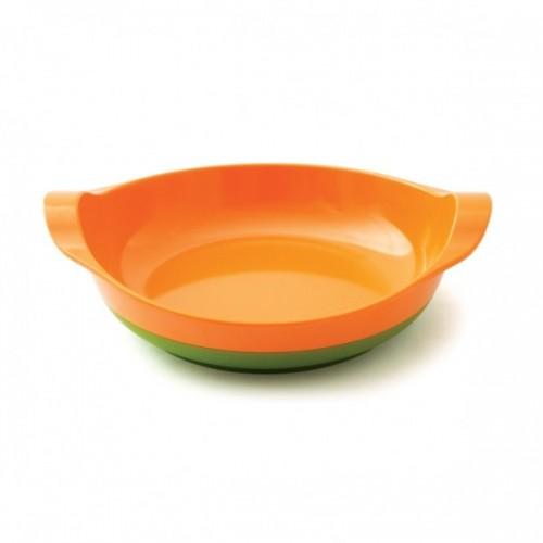 Assiette antidérapente orange