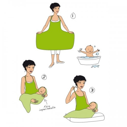Tablier linge Chéru'bain