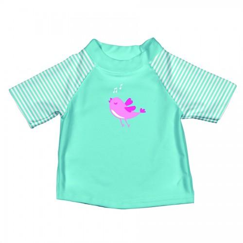 T-shirt de bain turquoise