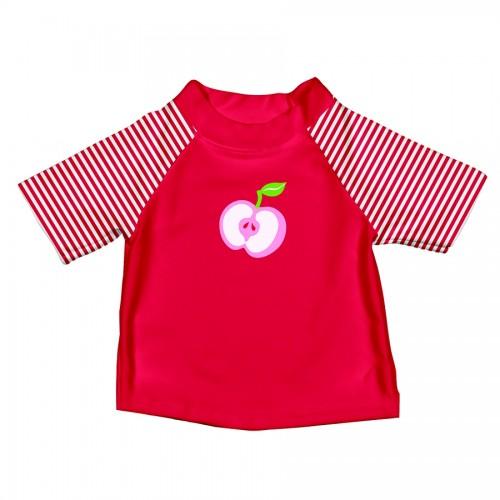 T-shirt de bain bleu et rose