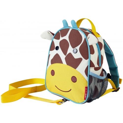sac à dos avec harnais, girafe