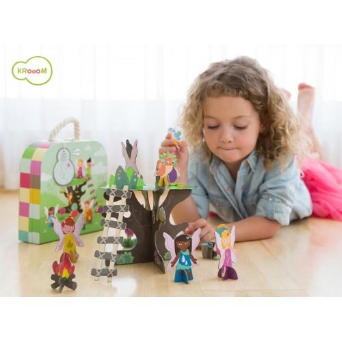 Princesse Iris Malette puzzle 3D
