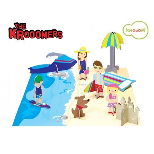 Les krooomers à la plage