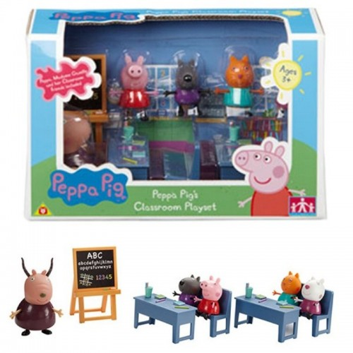 Peppa pig: la salle de classe