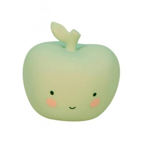 Veilleuse en forme de pomme verte