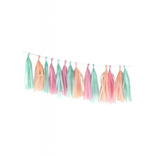Decoration - Guirlande Tassel - Pastel