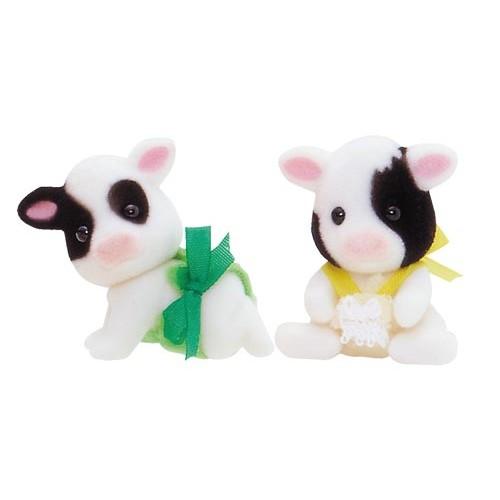 Friesian Cow Twins