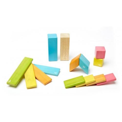 Set blocs en bois magnétiques