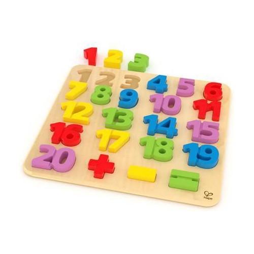Puzzle numéros colorés