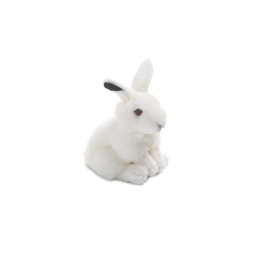 Peluche WWF Lapin de neige 19 cm