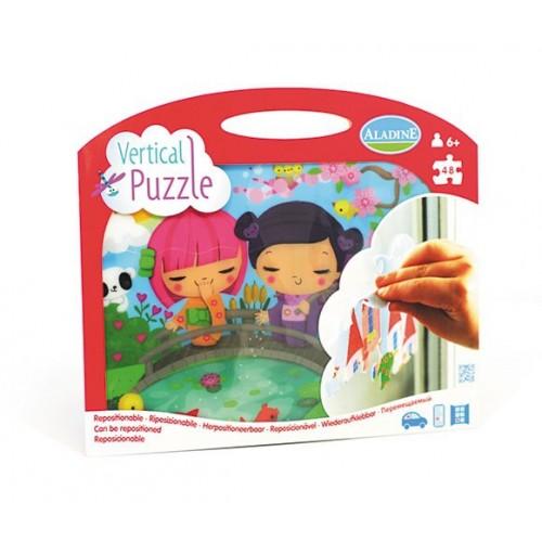 Vertical Puzzle Kokeshi 48 pièces