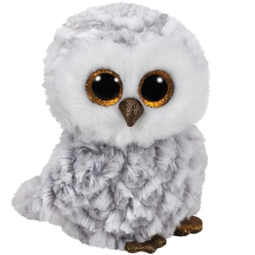 Owlette,hibou blanc 15cm