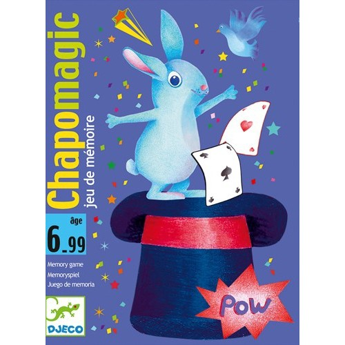 Jeux de cartes Chapo magic