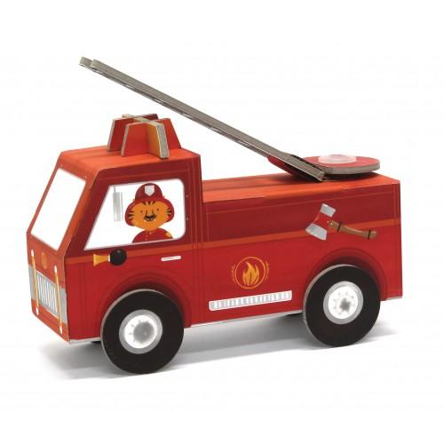 Fire truck pompier