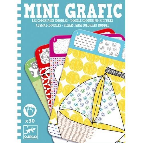 Mini Grafic Coloriages doodle
