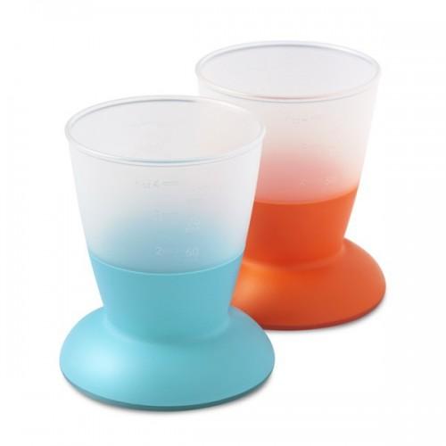 Lot de 2 verres Orange et Turquoise BabyBjörn