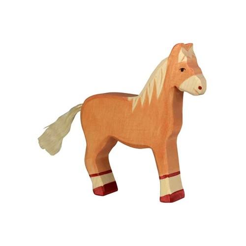 Figurine cheval en bois de Goki