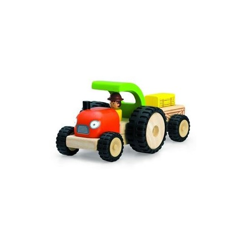 Tracteur en bois de WonderWorld