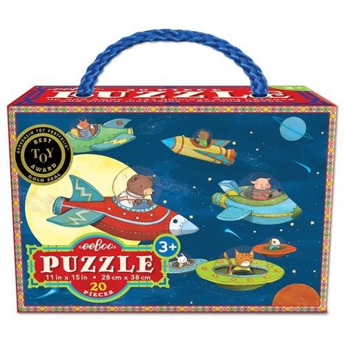 Puzzle 20 pièces allez hop Eeboo