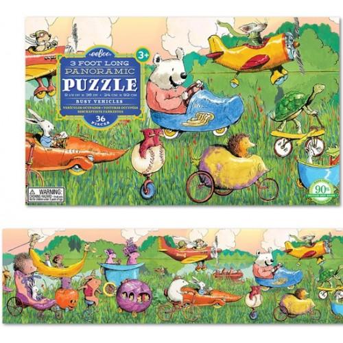 Puzzle, véhicules 36 pièces