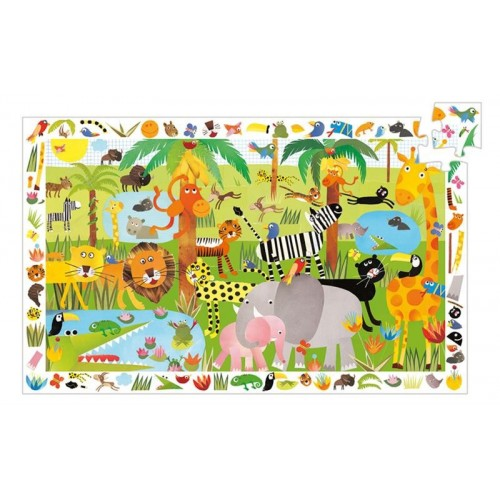La Jungle puzzle 35 pèces