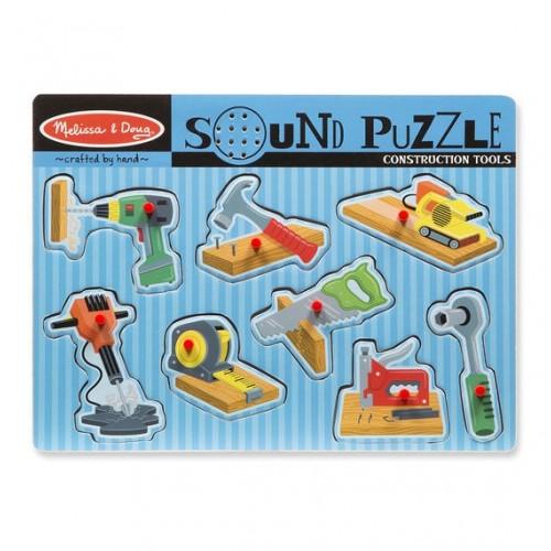 Puzzle sonore les outils