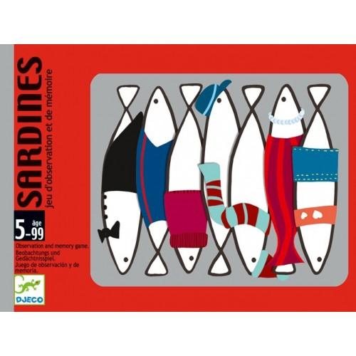 Jeux de cartes Sardines
