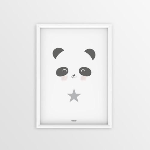 POSTER 50 X 40 cm PANDA