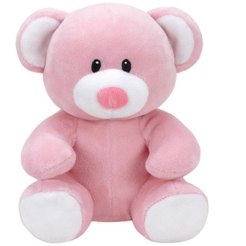 Peluche Princess, ours rose 17cm