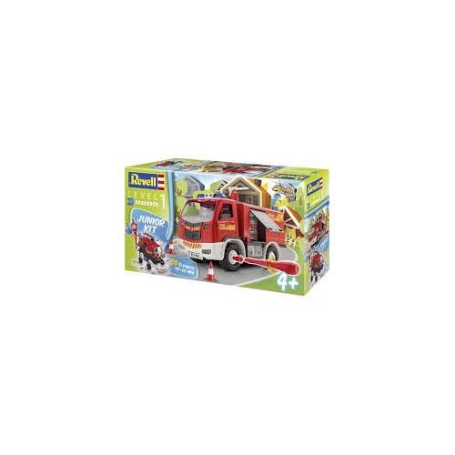 Camion de pompier à monter