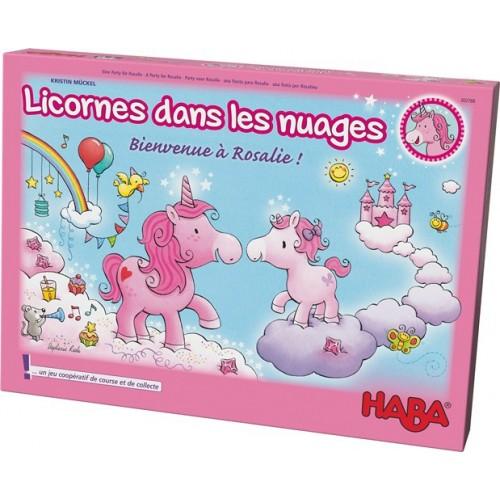 Licornes dans les nuages - Bienvenue à Rosalie !