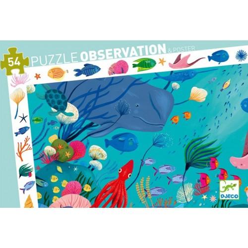 Puzzle Aquatique 54 pièces