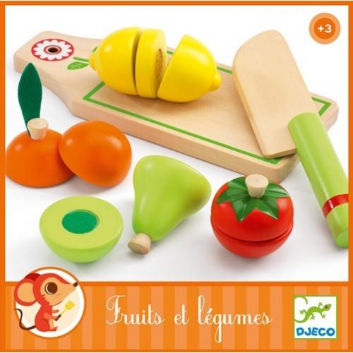 Jouets d'imitation Fruits et légumes à couper