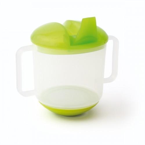 Tasse à bec vert vert