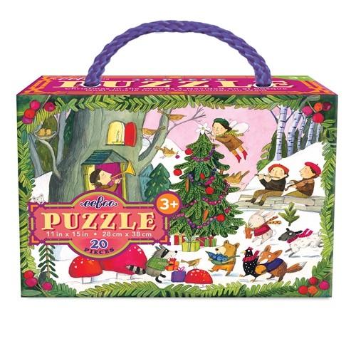 Puzzle Noël dans la forêt 20 pièces