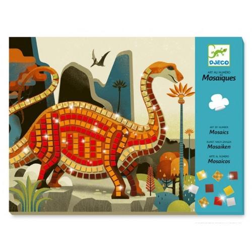 Mosaico dinosaure