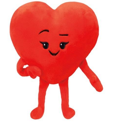 peluche Emoji coeur 15 cm
