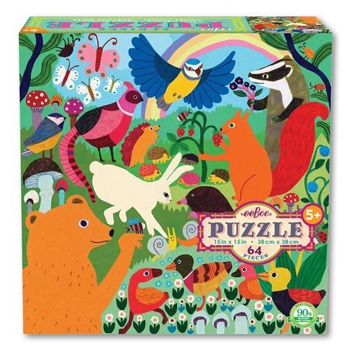 Puzzle animaux des prés, 64 pièces