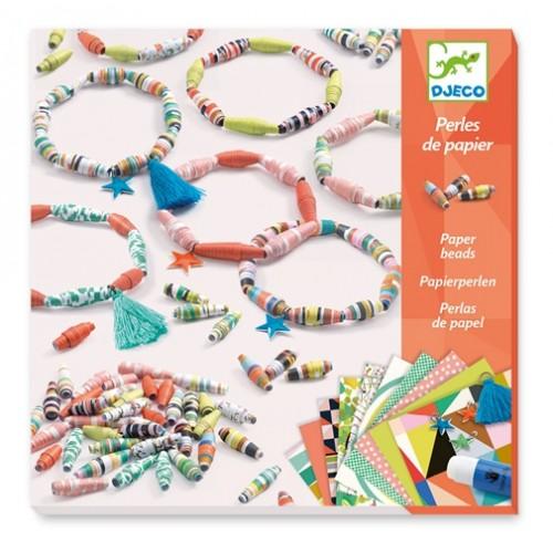 Perles de papier Bracelets de printemps