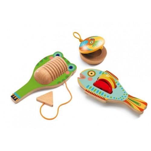 Set de 3 instruments animanbo