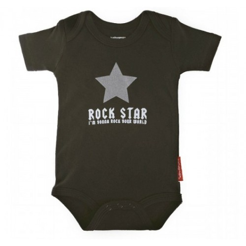 Body Rock star taille 3 à 6 mois