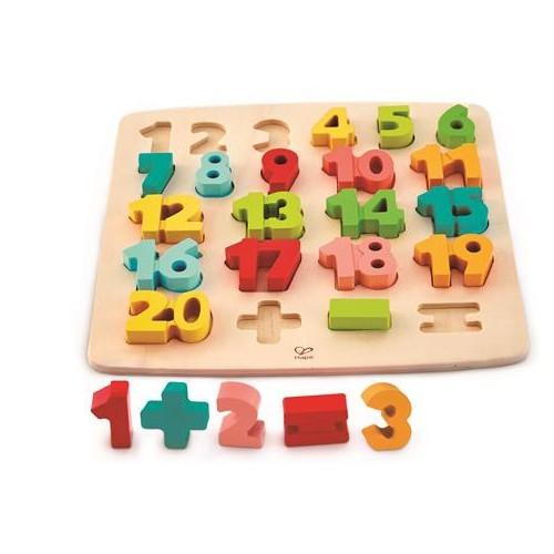 Puzzle en bois pour compter