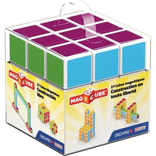 MAGICUBE Free Building 27 cubes de Geomag