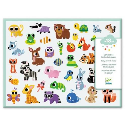 300 Stickers Bébés animaux